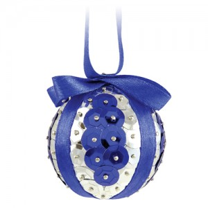 Demo Bauble Blue