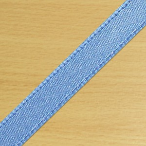 7mm Satin Ribbon Antique Blue