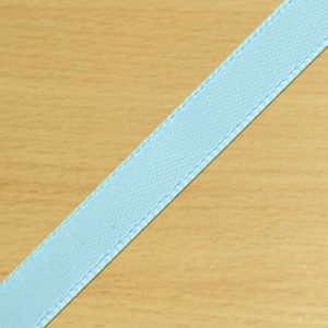 7mm Satin Ribbon Pale Blue