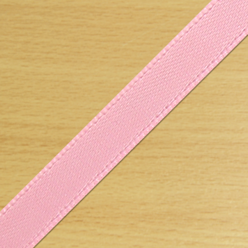 7mm Satin Ribbon Pale Pink