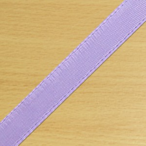 7mm Satin Ribbon Lilac