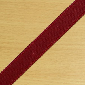 7mm Satin Ribbon Rust