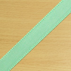 7mm Satin Ribbon Mint Green