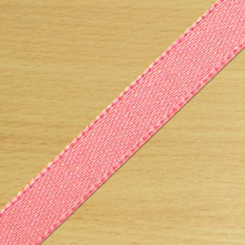 7mm Satin Ribbon Salmon