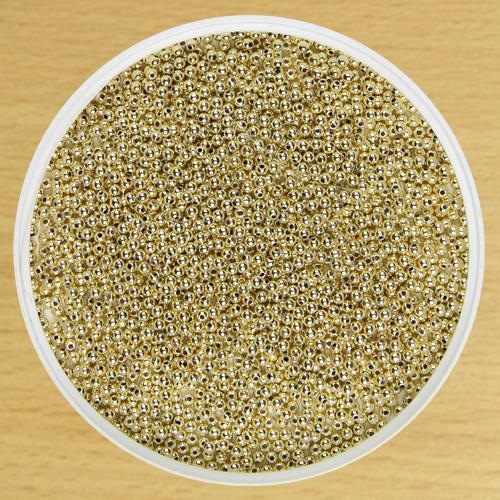 2.5mm Round Bead Gold