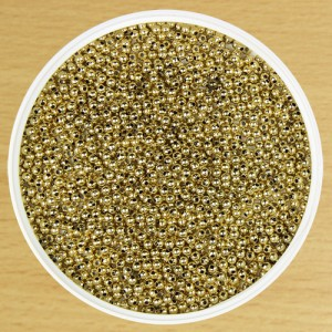 3mm Round Bead Gold