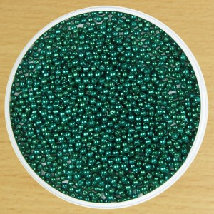 3mm Round Bead Green