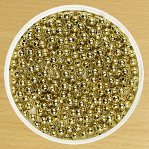 6mm Round Bead Gold