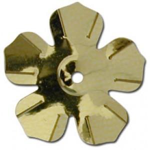 Gold Flower Sequin