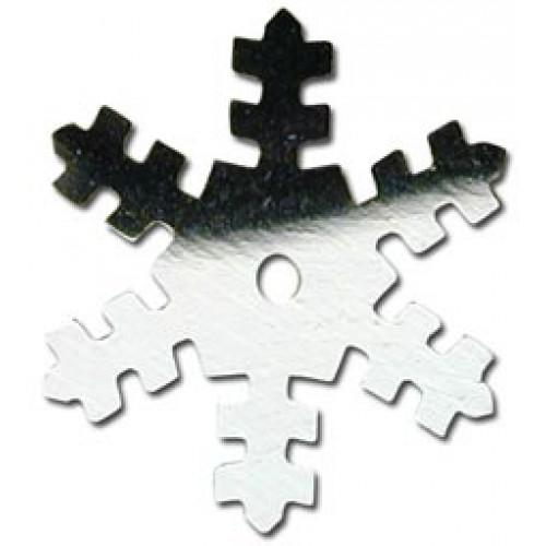 Silver Snowflake Sequin
