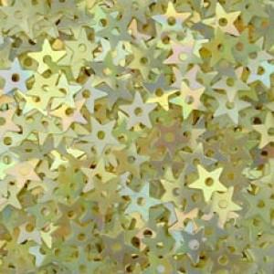 Pearl Cream Small Star Sequin