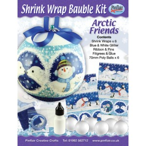 Arctic Friends Shrink Wraps