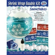 Snowflakes Shrink Wraps