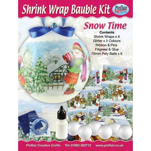 Snowtime Shrink Wraps