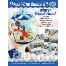 Winter Wonderland Shrink Wraps