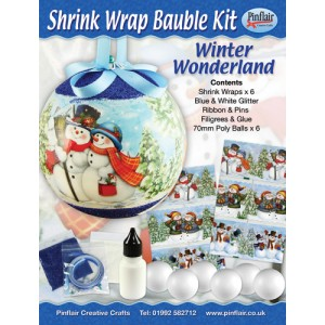 Winter Wonderland Shrink Wraps