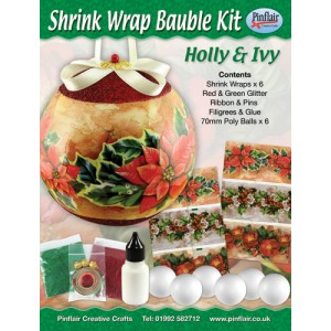 Holly & Ivy Shrink Wraps