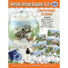 Christmas Scenes Shrink Wraps