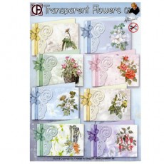 Transparent Flowers Set 2