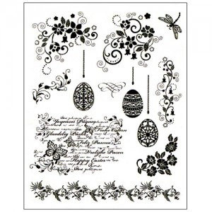 Stamp set: Easter Eggs and Borders
