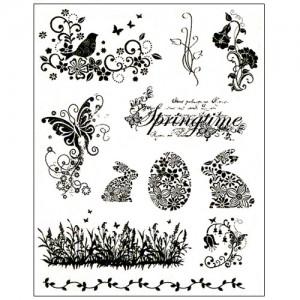 Stamp set: Springtime and Easter Bunnies