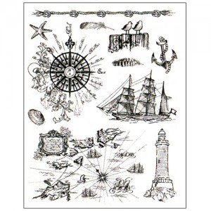 Stamp set: At the Seaside