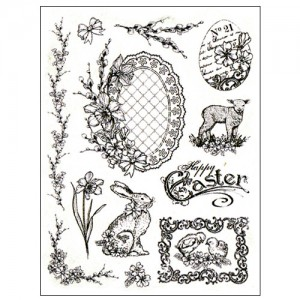 Stamp set: Nostalgic Easter Motives