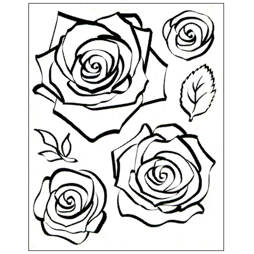 Stamp set: 3D Rose