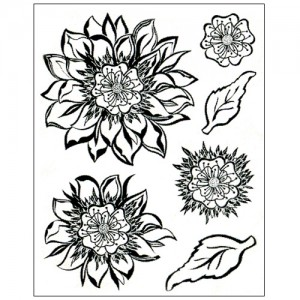 Stamp set: Fantasy Flower Princes