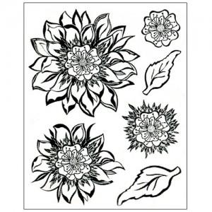 Stamp set: Fantasy Flower Princes