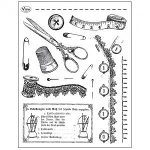 Stamp set: Sewing Tools