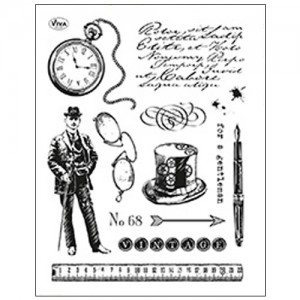 Stamp set: Gentleman