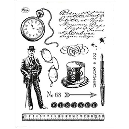 Stamp set: Gentleman