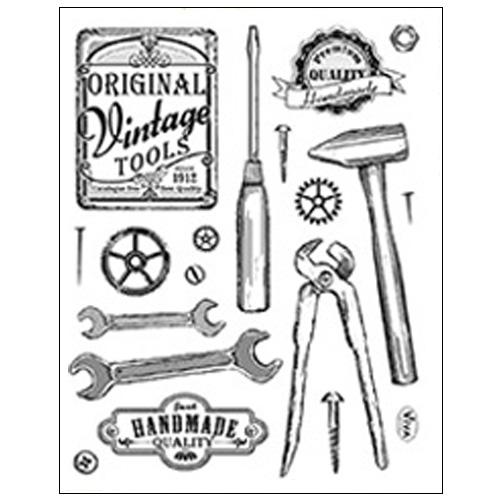 Stamp set: Vintage Tools