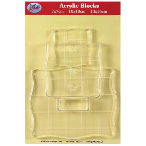 Set of Acrylic Blocks