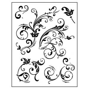 Stamp set: Floral Embellishments
