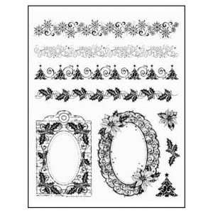 Stamp set: Christmas Borders and Frames