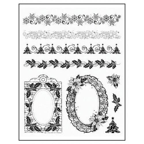 Stamp set: Christmas Borders and Frames