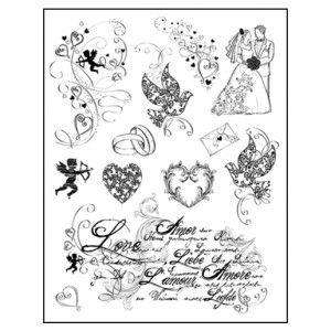 Stamp set: Love