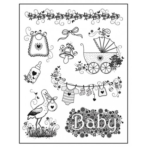 Stamp set: Birth