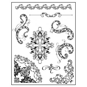 Stamp set: Flourish Embellishments