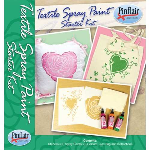 Textile Spray Paint Starter Kit