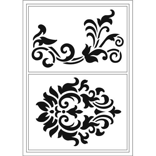 Flexible Stencils D4