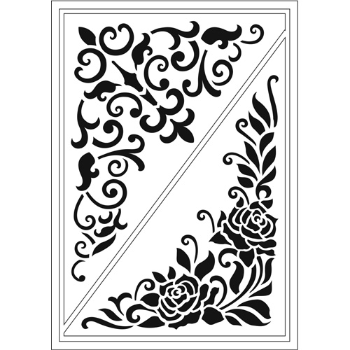 Flexible Stencils D6