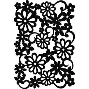 Small Springtime Stencil