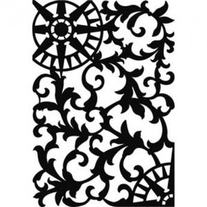 Small Compass Stencil