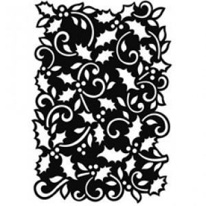 Small Holly Stencil