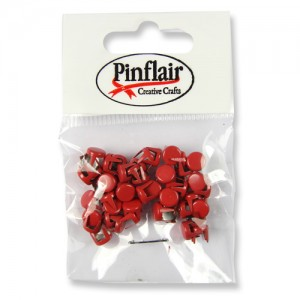 Pinflair Red Studs