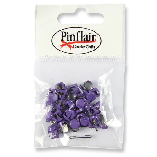 Pinflair Lavender Studs