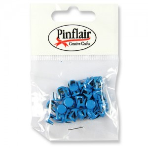 Pinflair Blue Studs